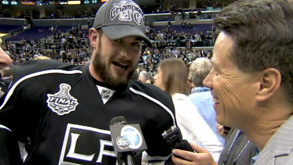 Brad Richardson, dad celebrate Stanley Cup win