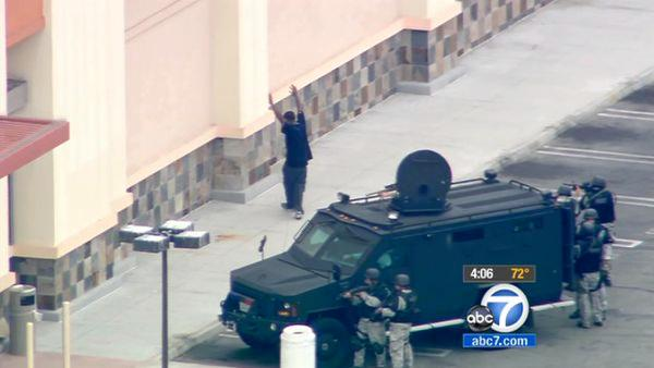 Burlington Coat Factory standoff ends calmly