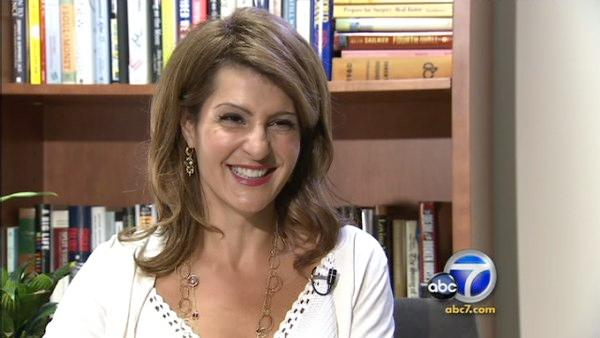 Nia Vardalos appears in an interview with ABC7.