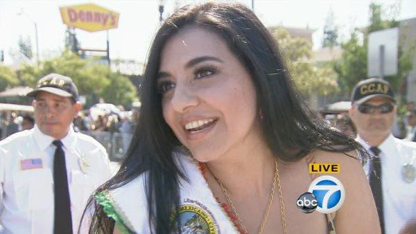 Graciela Beltran is parade grand marshal