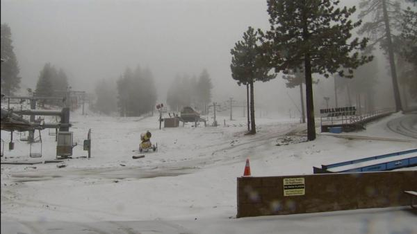 Local mountains see 1st snow of the season