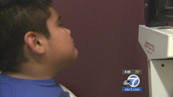 Child obesity:  Young boy's journey to health