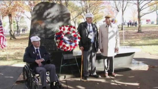 WWII's Doolittle Raiders honored in Ohio