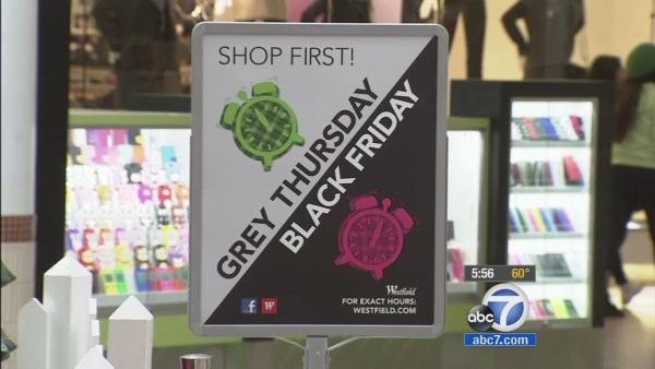 Pre-Thanksgiving sales kick off at stores