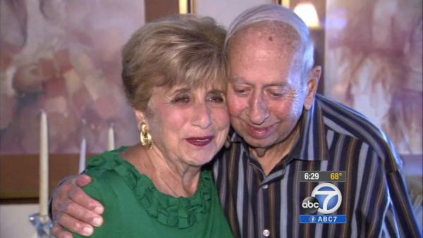 Couple who met at ABC7 celebrates 55 years