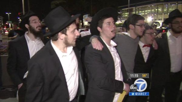 'Thanksgivukkah' celebrated in downtown LA