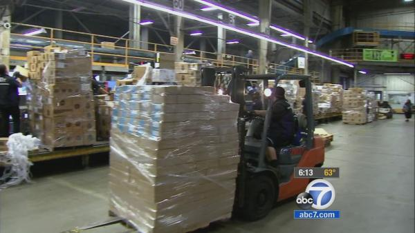 Cyber Monday keeps Amazon workers busy in IE