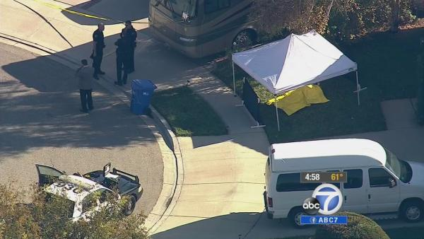 Simi Valley neighbors found dead in front yards