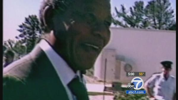 Nelson Mandela's life and legacy honored