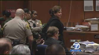 Angela Spaccia is seen in court on Monday, Dec. 9, 2013.