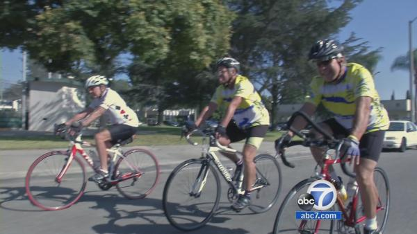 Seniors push pedals to stay fit, spread cycling