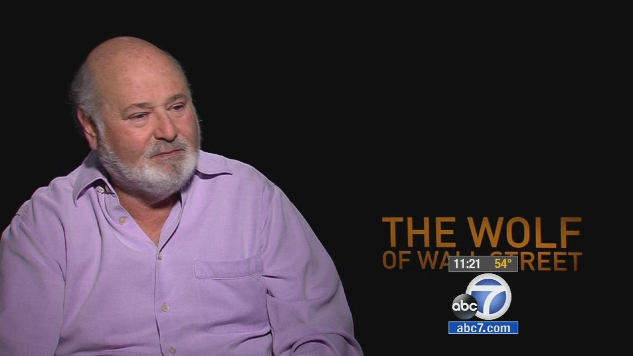 rob reiner wolf of wall street
