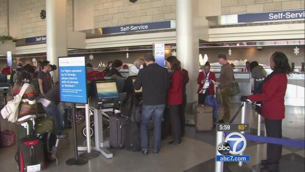 Winter storm causes LAX flight cancellations