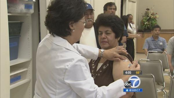 Flu 'hot spots' developing in Los Angeles?