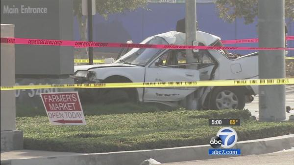 Bank robber killed in police chase crash
