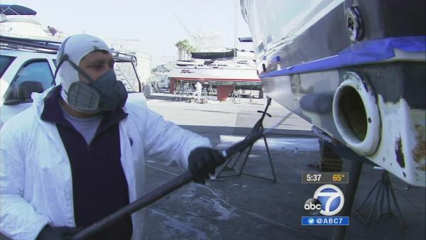 Marina del Rey cleanup: Ban copper boat paint?