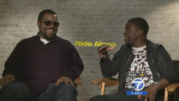 Ice Cube, Kevin Hart buddy up in 'Ride Along'