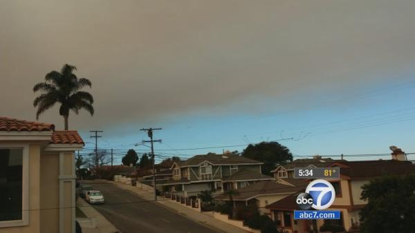 Health dangers of wildfire smoke, ash