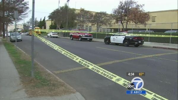 Driver hits 2 adults, 3 kids in Highland Park