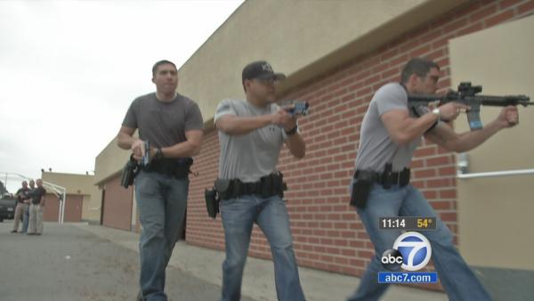 OC officers train for active shooter scenario