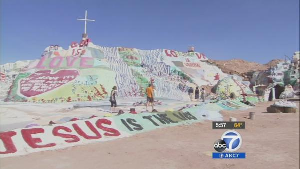 SoCal's Salvation Mountain creator dies