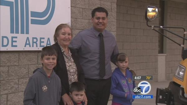 Bus driver honored for saving kid from flood