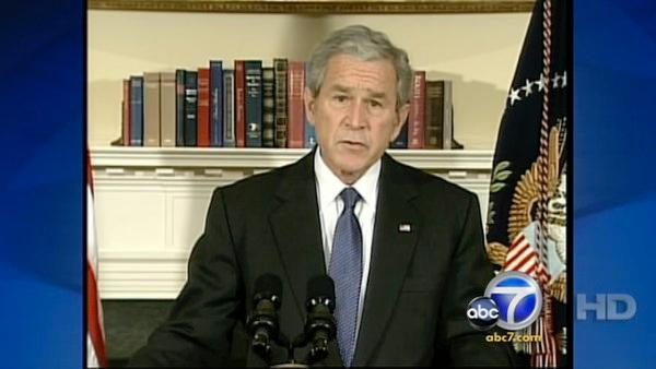 President Bush: Automakers to get $17.4B