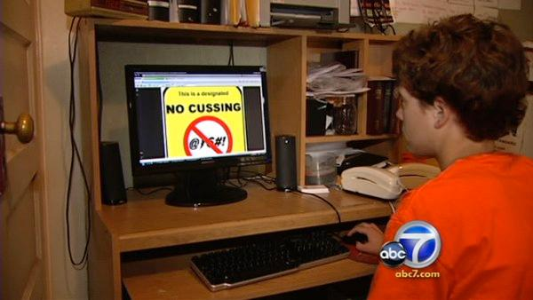 'No Cussing Club' teen gets death threats