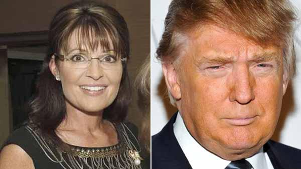 Sarah Palin, Donald Trump eye White House