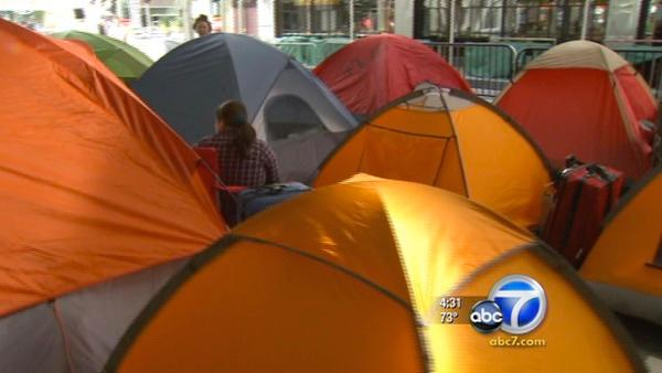 'Twilight' fans camp out for newest movie