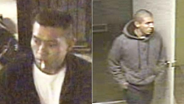 Burglary suspects sought by LAPD Rampart Div.