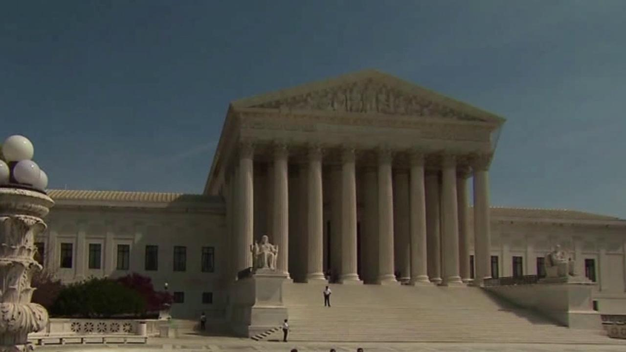The U.S. Supreme Court is seen in this undated file photo.