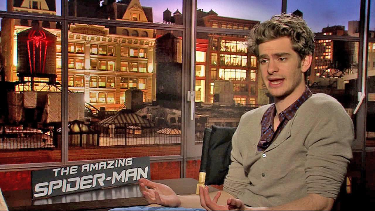 Andrew Garfield, the star of The Amazing Spider-Man. is seen in this file photo.