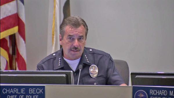 LAPD officer shootings policy reviewed