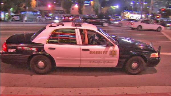 LA theaters see increased police presence