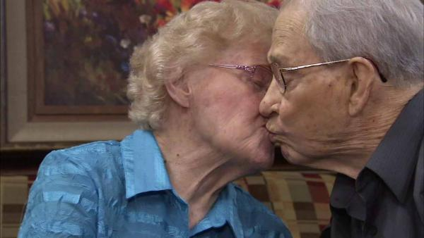 Couple offers marriage advice on 70th anniv.