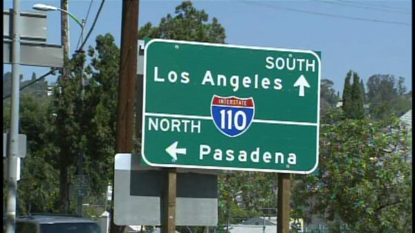 Lower speed limit considered for 110 Freeway