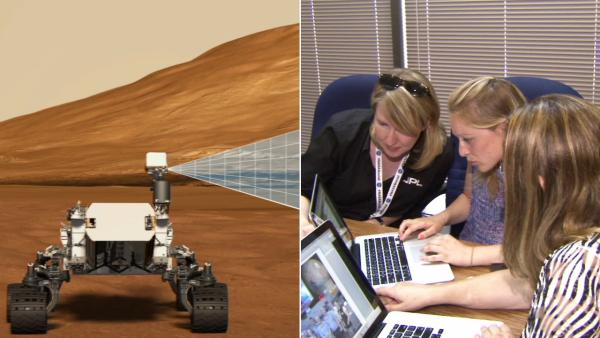 Mars Curiosity: Women behind the Twitter feed