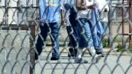 California inmates are seen in this undated file photo.