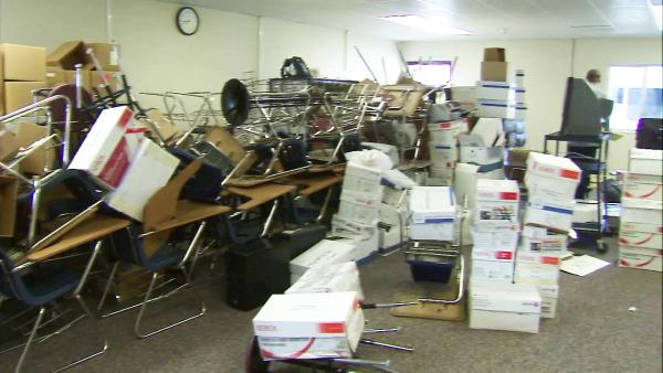 Schools clean up after Victorville flooding