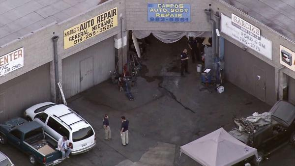 NoHo body shop busted in federal drug raid