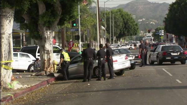 Man killed in Hollywood hit-and-run crash