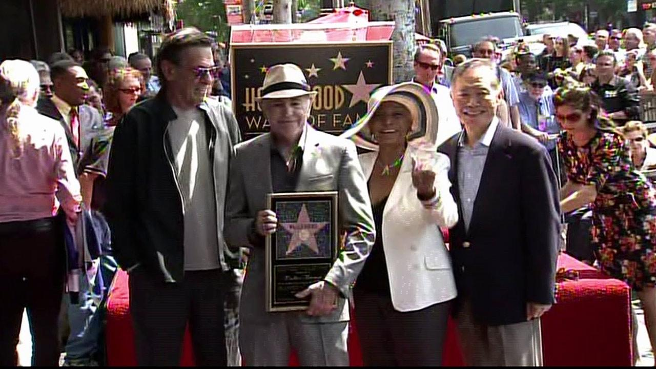 Walter Koenig received a star on the Hollywood Walk of Fame on Monday, Sept. 10, 2012.