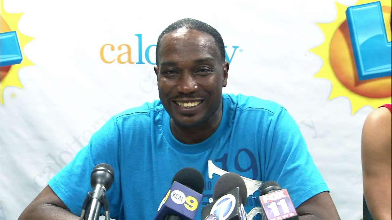 Rialto man Ronald Willis won the California Lottery Mega Millions jackpot on Tuesday, Sept. 11, 2012. He appeared at a news conference on Friday.