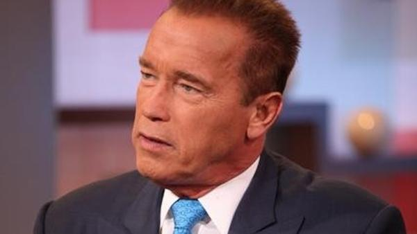 Schwarzenegger talks book, affair on 'GMA'