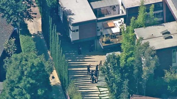 Hoax brings police to Kutcher's Hollywood home