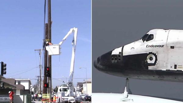 Power outages expected during Endeavour journey