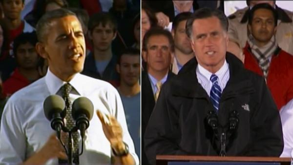 Obama, Romney focus on battleground states