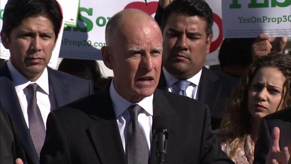 Gov's Proposition 30 losing support in polls