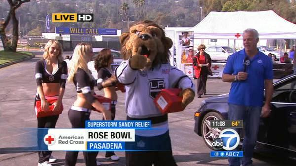 LA Kings Ice Crew at Pasadena Sandy drive
